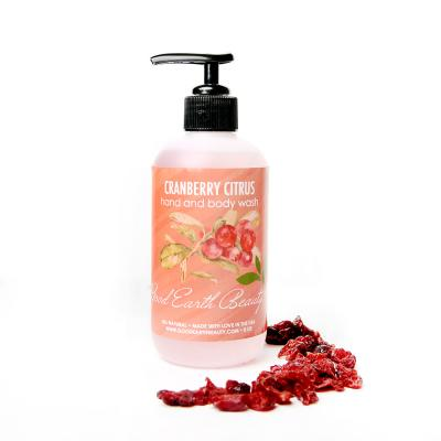 Cranberry Citrus hand and body wash