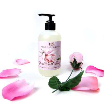 NEW Body and Hand Wash Rose by Good Earth Beauty