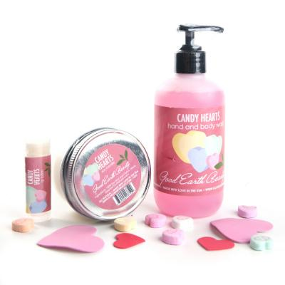 A Gift New Soy Candle Candy Hearts Good Earth Beauty