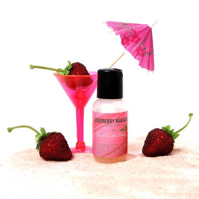 Hand and Body Wash Sample Size Strawberry Margarita