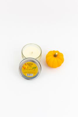 New Natural Soy Candle Pumpkin Spice