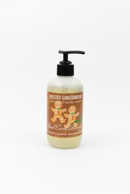 New Hand and Body Wash Frosted Gingerbread