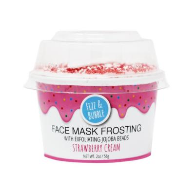 NEW STRAWBERRY CREAM FACE MASK FROSTING BY Fizz & Bubble