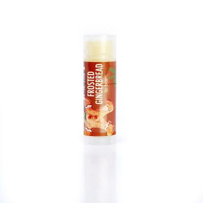 Frosted gingerbread lip balm