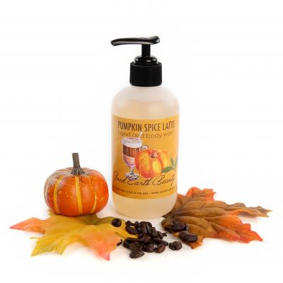 New Hand and Body Wash Pumpkin Spice Latte by Good Earth Beauty