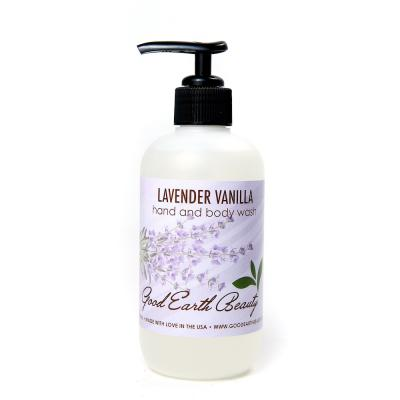 NEW Body and Hand Wash Lavender Vanilla by Good Earth Beauty