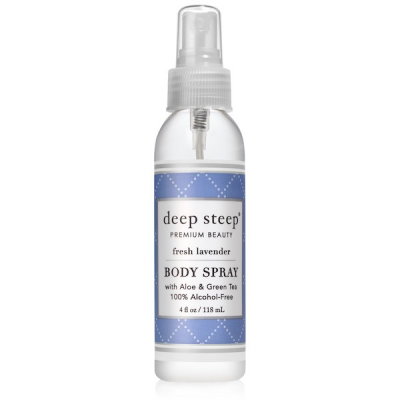 Body Spray, Fresh Lavender by Deep Steep