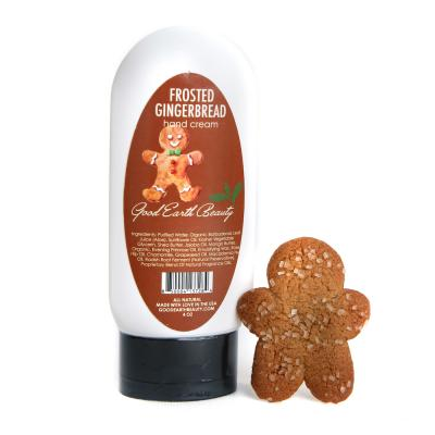 New Hand Cream Frosted Gingerbread