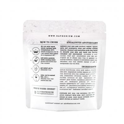 New Bathorium Bath Soak Ecualyptus Apothecary
