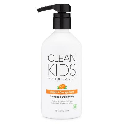 Shampoo for Kids Tropical Orange Burst Sample