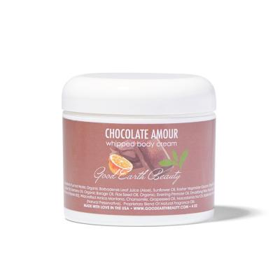 Body Cream Chocolate Amour natural vegan body lotion Gluten free, Cruelty free, All natural, Paraben free