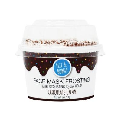 NEW CHOCOLATE CREAM FACE MASK FROSTING BY Fizz & Bubble