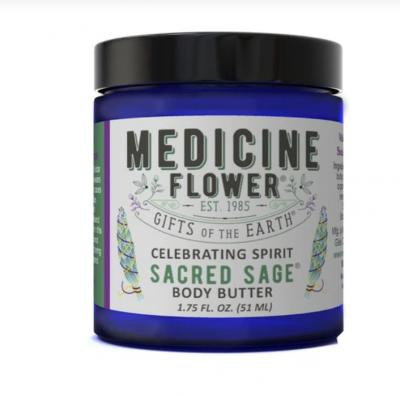 Body Butter - Sacred Sage Medicine Flower