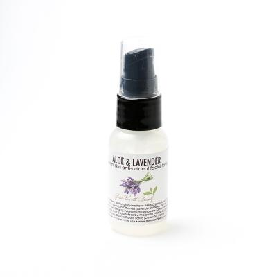 Facial Toner Mist - Aloe & Lavender Anti Oxidant for all Skin Types SAMPLE
