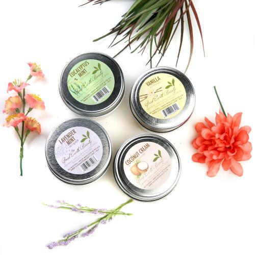 All Natural Soy Candles 4 Flavors