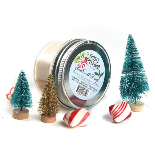 Soy Candle Frosty Peppermint good gift