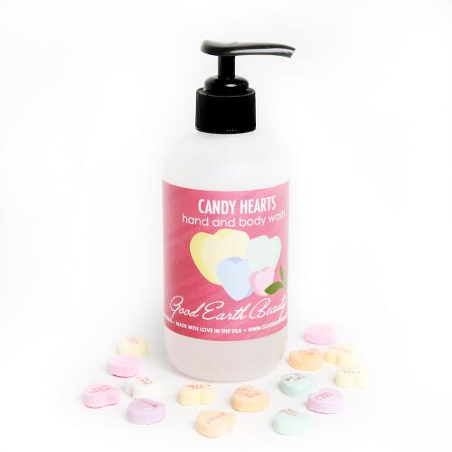 Hand and Body Wash Candy Hearts Good Earth Beauty