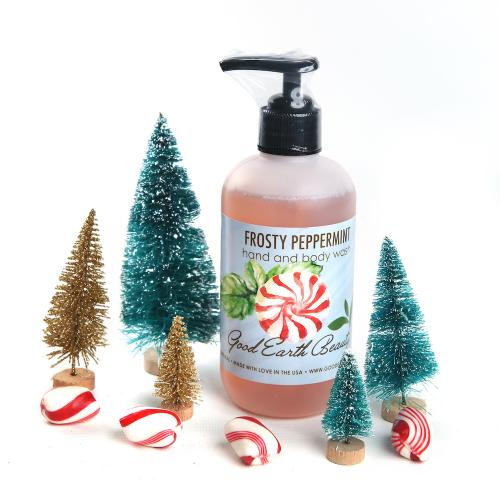 New Hand and Body Wash Frosty Peppermint Great Gift