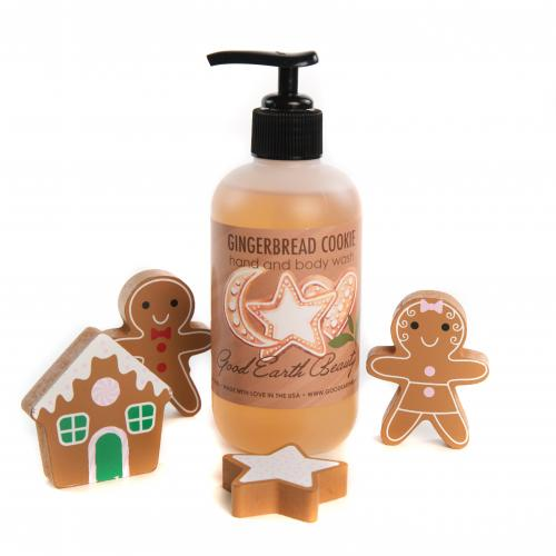 Hand and Body Wash Gingerbread Cookie by Good Earth Beauty