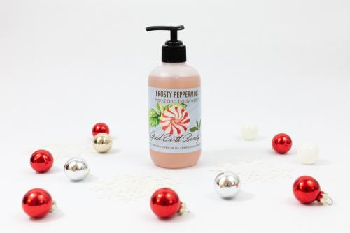 Hand and Body Wash Frosty Peppermint Great Gift
