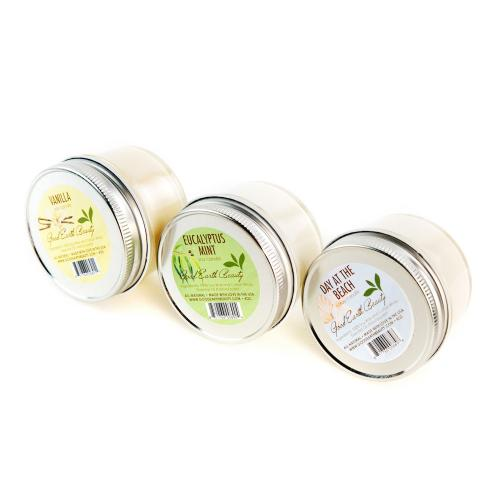 Candle Natural Soy Set of 3 Good Earth Beauty