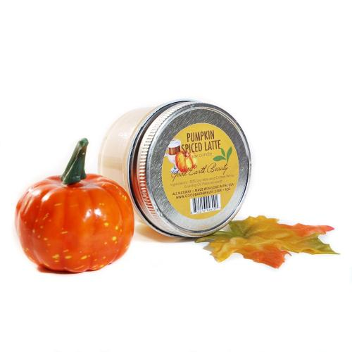 All Natural Soy Candle Pumpkin Spiced Latte Good Earth Beauty