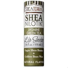 Lip Savior-Shea Nilotik' Lip Savior JASMINE GREEN TEA by SheaTerra Organics
