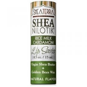 Lip Savior Shea Nilotik' Lip Savior RICE MILK CARDAMOM by Shea Terra Organics