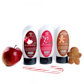 Gift Set 3 Hand Cream Candy Cane, Apple Pie & Frosted Gingerbread Good Earth Beauty