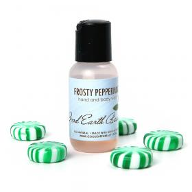 Hand and Body Wash Frosty Peppermint Sample Size