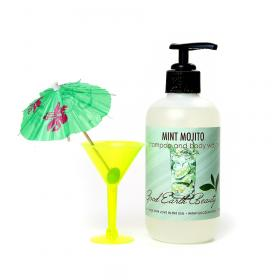 Vegan Hand Body Wash and Shampoo Mint Mojito