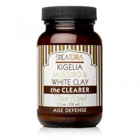 New Kigelia Mussiro & White Clay the Clearer Face Mask AGE DEFENSE  by Shea Terra Organics