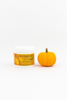 Whipped body cream pumpkin