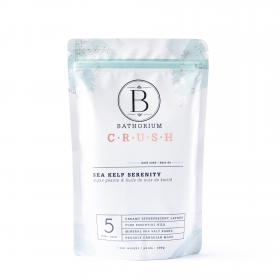 "New Bath Soak ""CRUSH"" Sea Kelp Serenity 600gr 5 baths"