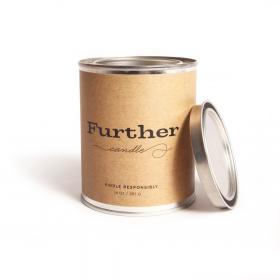 New 13 oz. Tin Candle – Further Soy Candle by Further Soap All Natural