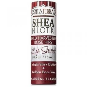 Lip Savior- Rose Hips-E by SheaTerra Organics
