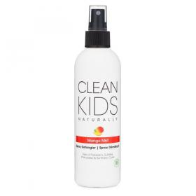 New Clean Kids Naturally Mango Mist Spray Detangler 8oz