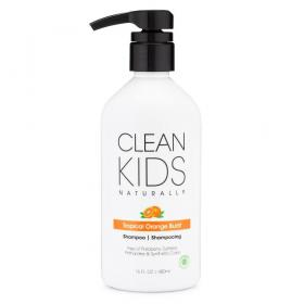 Clean Kids Shampoo Tropical Orange Burst 16 oz