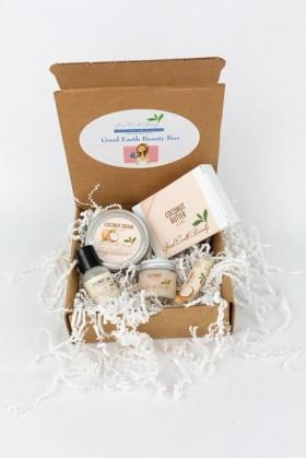 Beauty Box -  Coconut Lovers one time beauty box Good Earth Beauty