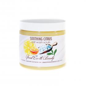 Salt Wash Scrub Soothing Citrus New Skincare Good Earth Beauty