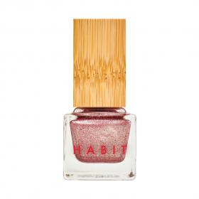 New Trend New Nail Polish -Body Electric 46 Rose Gold Foil Non Toxic by Habit Cosmetics
