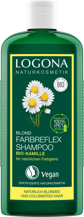 Shampoo Camomile for Colour Care Logona by Natural Europe