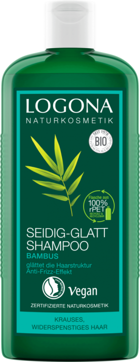 Shampoo Bamboo for taming frizzy, long hair Logona by Natural Europe